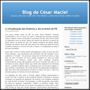 Blog de César Maciel
