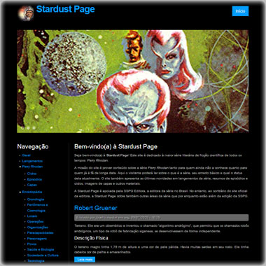Stardust Page